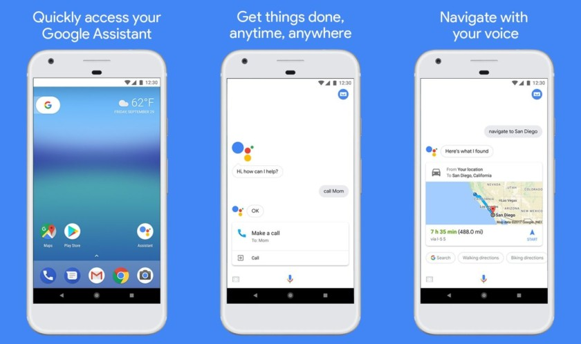 Google Assistant appears in play store for Android 6 0+ smartphones