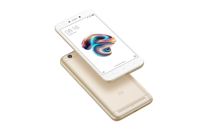 Xiaomi Redmi 5A launched with 13 MP camera and 3000 mAh battery