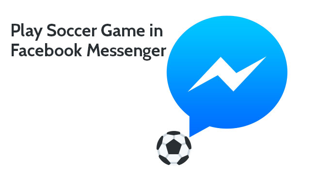 how do you play the soccer game on messenger