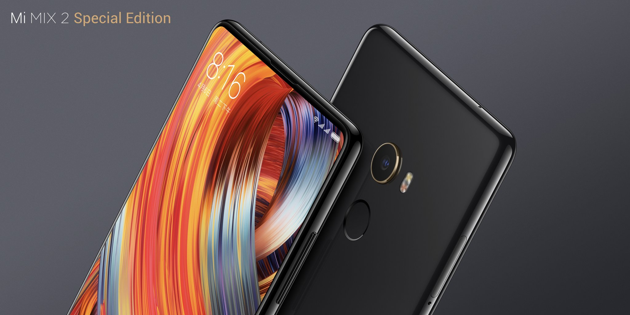 Xiaomi Officially Unveiled Mi Mix 2 With More Less Bezels