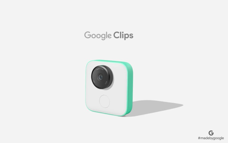 Google unveils Google Clips at the Made by Google event