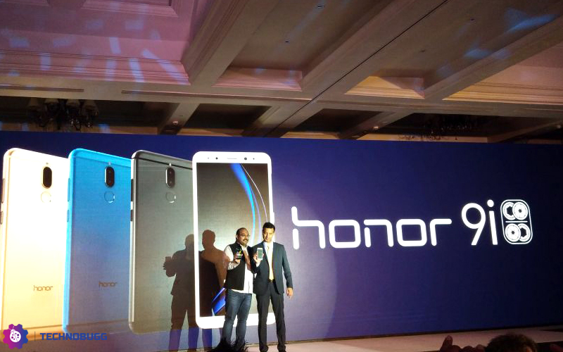 Honor 9i with 5.9 inch FullVision display and Quad Cameras launched in India