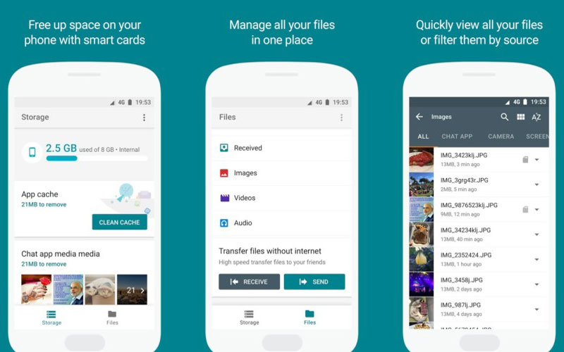 Google launches its own file manager app for Android users
