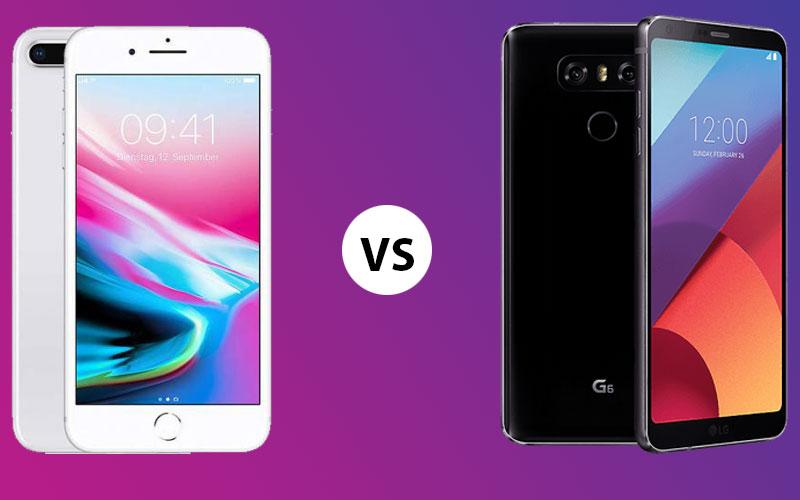 iPhone 8 Plus vs LG G6