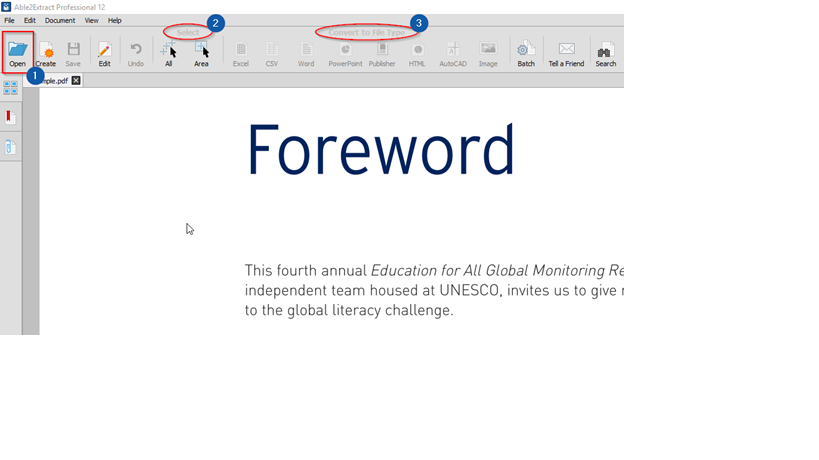 Able2Extract Pro 12: One PDF Tool May Be All You Need