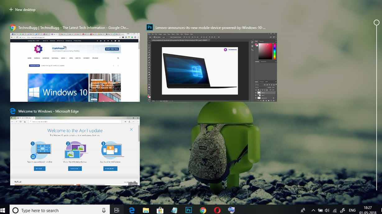 Everything About Windows 10 April 2018 Update