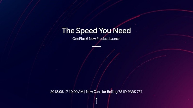 Finally The Official Launching Date Of OnePlus 6 Is Here