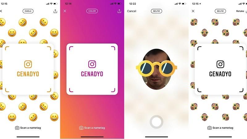 Instagram Testing Nametags