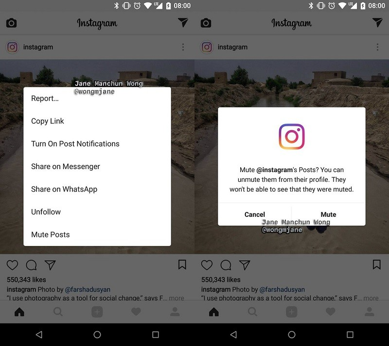 Instagram Getting Slow Motion , Story Reactions , Profile Muting and More