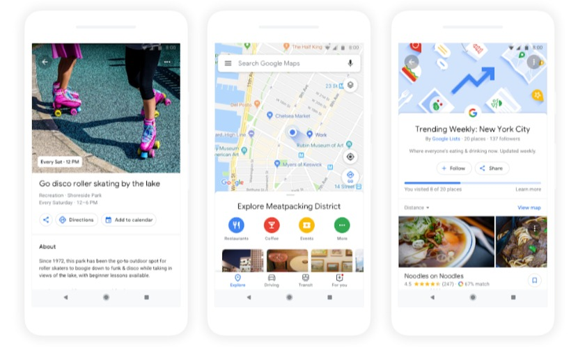 Google Reloads Maps