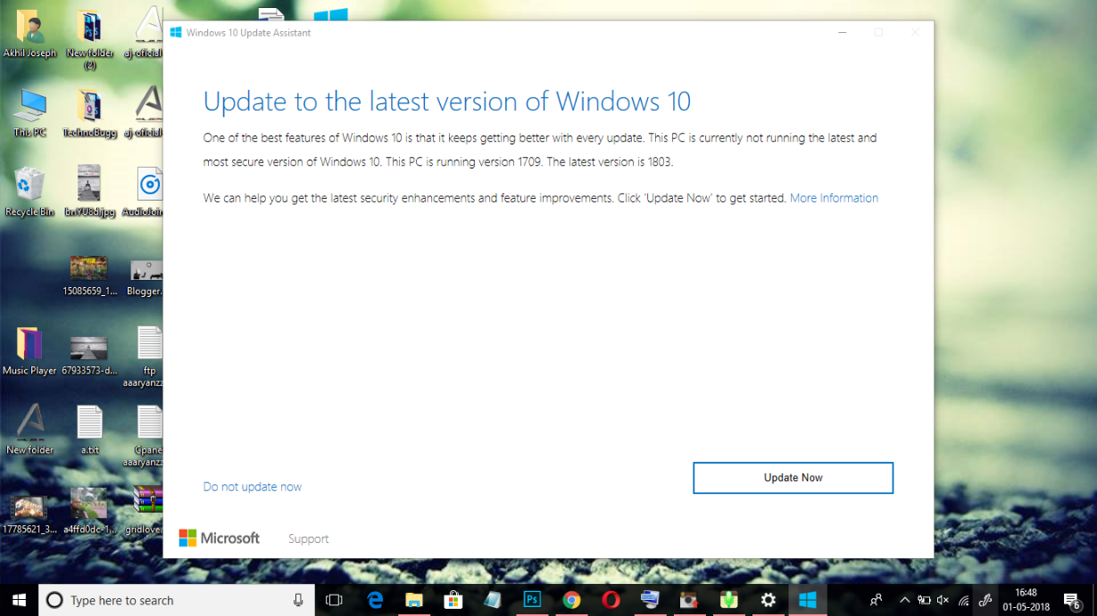 How To Get Windows 10 April 2018 Update