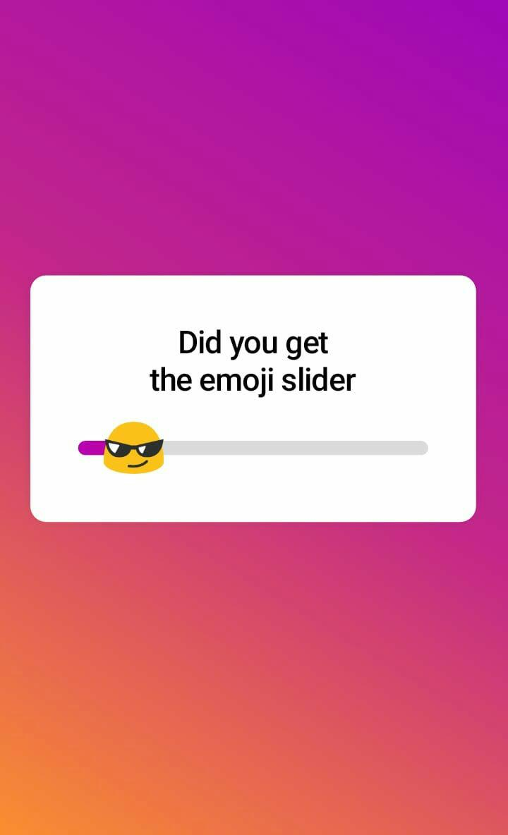 Instagram Brings Emoji Slider To Get Opinion From Followers