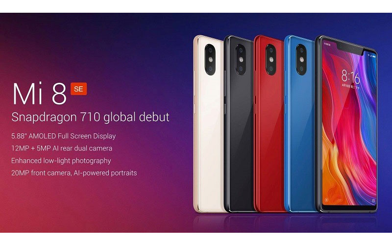 Mi 8 SE Goes Official With Dual Camera Setup And More