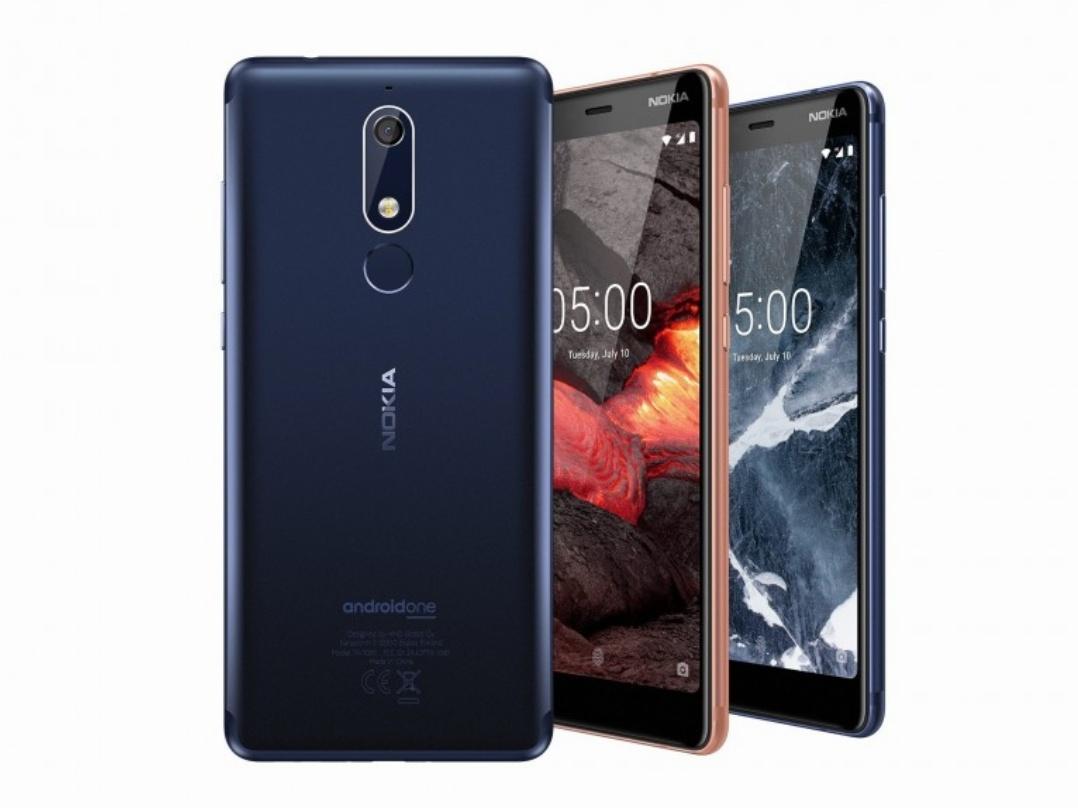 Nokia 5.1 & 3.1 Unveiled, Along With Nokia 2.1