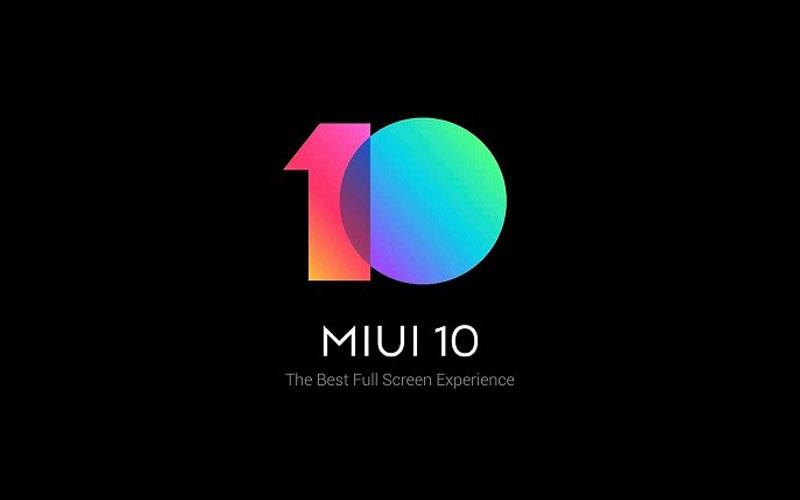 Xiaomi Announces MIUI 10