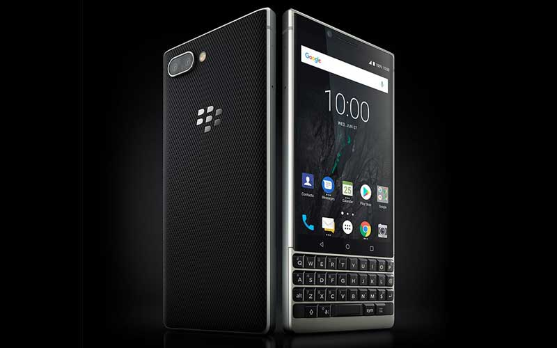 BlackBerry KEY2 Unveiled With Physical QWERTY Keyboard, Dual Rear Camera And More