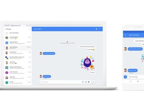 Google Officially Announces Android Messages For Web