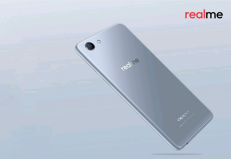RealMe To Launch Limited Edition Silver Colour Variant Of RealMe 1 Smartphone Next Week