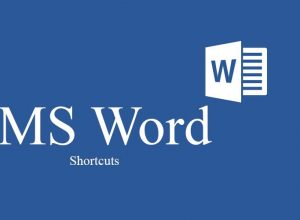 Here Are The Complete Shortcuts Of MS Word