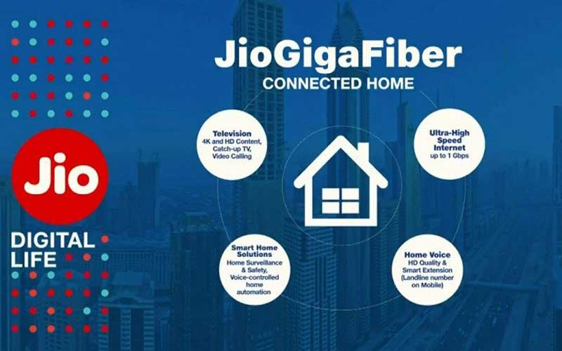 Reliance Jio Announces JioGigaFiber