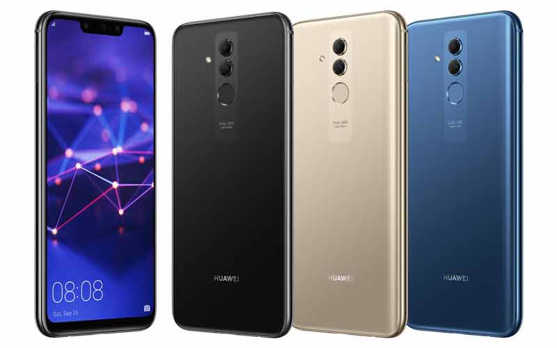 Images Of Huawei Mate 20 Lite Surfaced Online