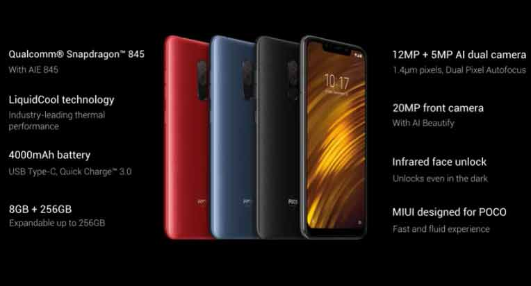 POCO F1 Unveiled In India With Liquid Cooling, Snapdragon 845, And More
