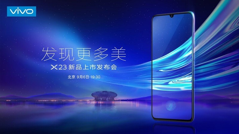 Vivo X23 Will Unveil On September 6