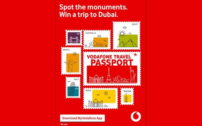 Vodafone Announces Travel Passport Contest On MyVodafone App