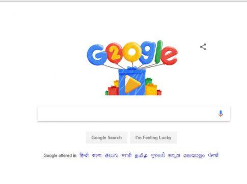 Google Celebrates 20th Birthday