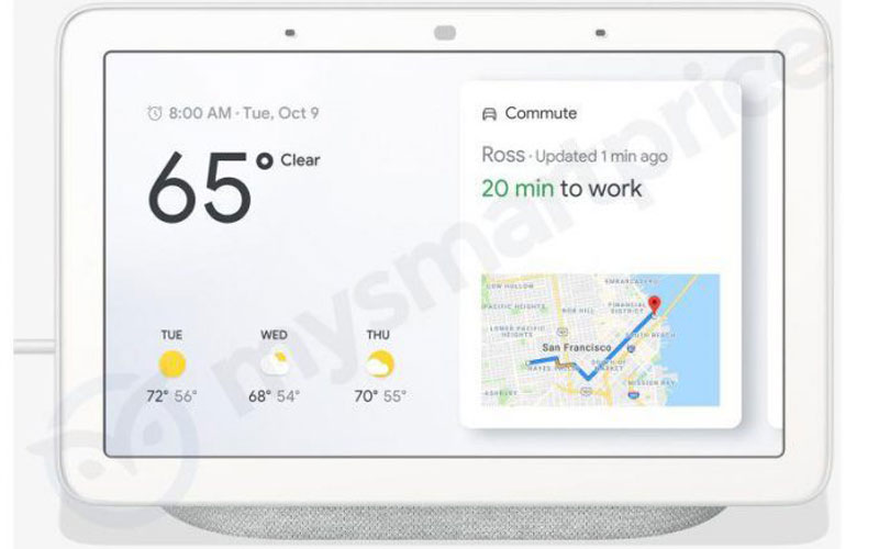 Google Home Hub Tipped To Launch In Made By Google Event