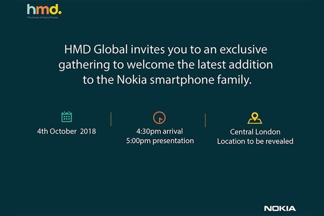 HMD Global To Launch New Smartphone On October 4