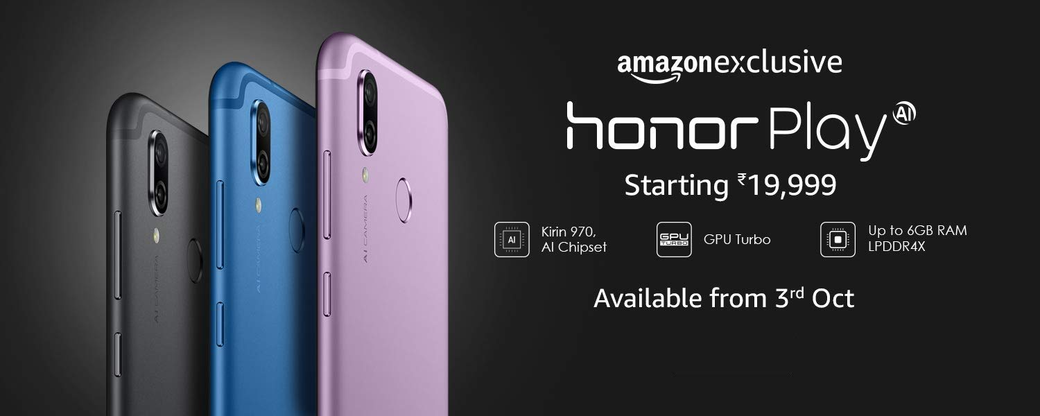 Honor Play Violet Colour Variant Will Be Available From October 3