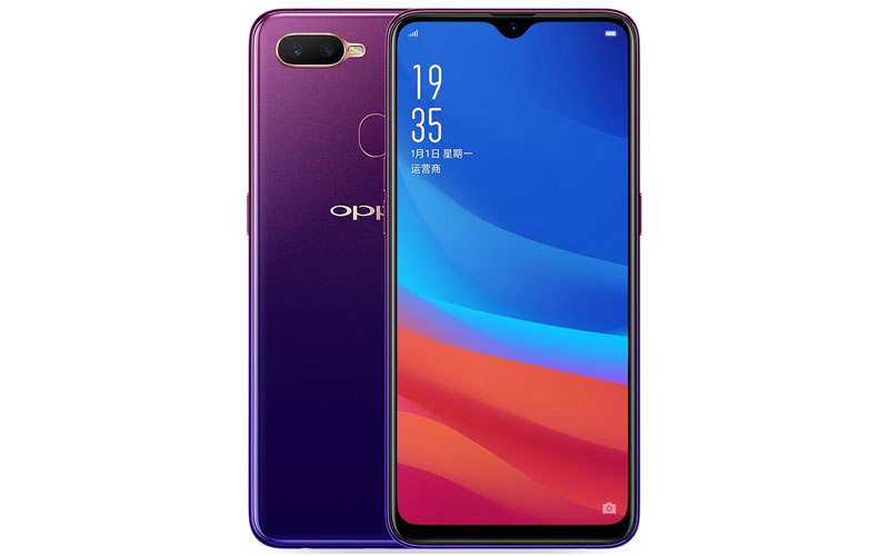 Oppo A7X Unveiled With Waterdrop Notch, Dual Cameras And More