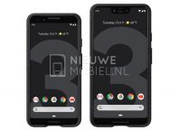 Press Renders Of Google Pixel 3 And Pixel 3 XL Surfaced Online