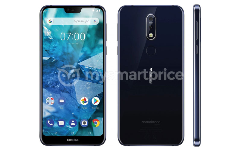 Press Renders Of Nokia 7.1 Plus Surfaced Online