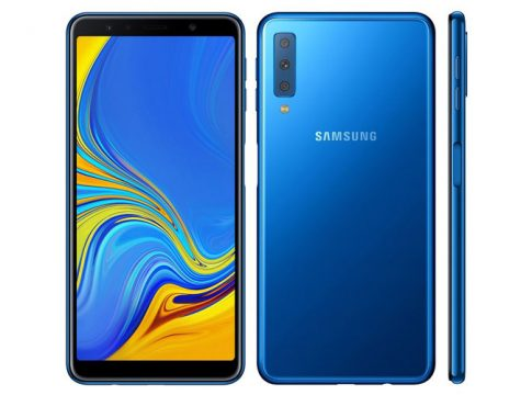 Samsung Unveiled Galaxy A7 (2018) With Triple Rear Camera Setup