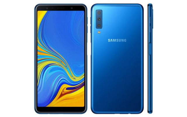 Samsung Unveiled Galaxy A7 (2018) With Triple Rear Camera Setup