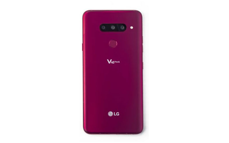 LG V40 ThinQ Unveiled With Five Cameras And More