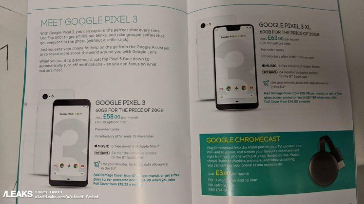 Pixel 3 XL Leaked Again Ahead Of Its Official Launch