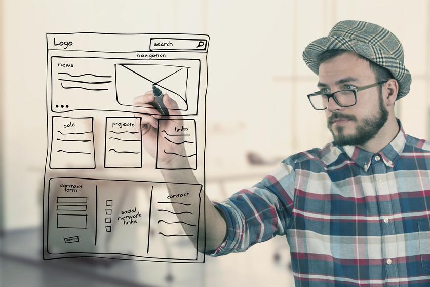 Perfect Web Design Concept