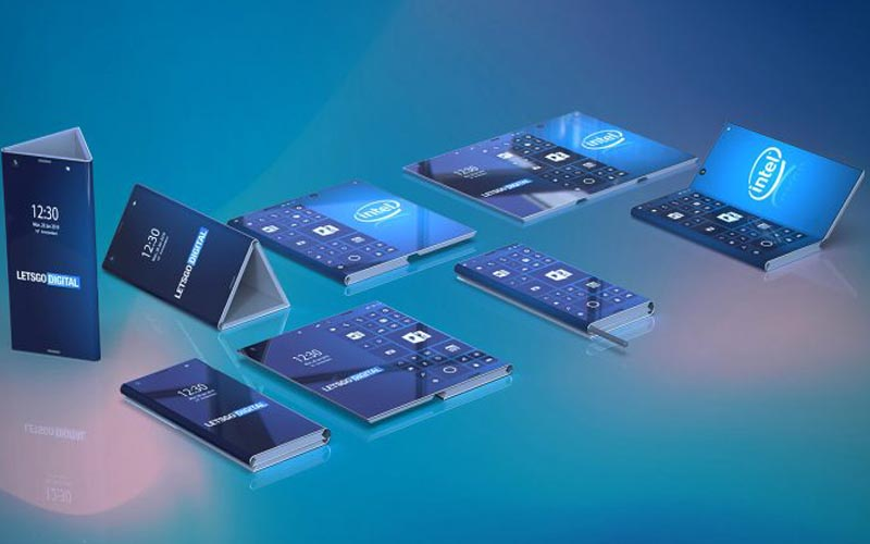 Intel Reportedly Working On 3-Display Foldable Smartphone