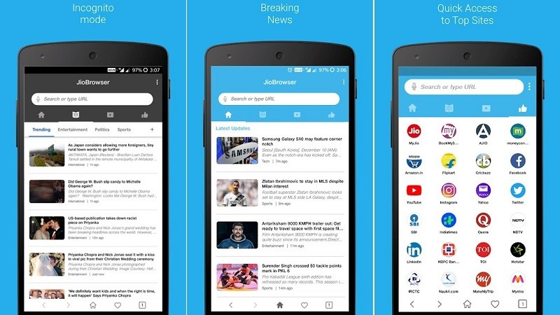Reliance Jio Launches JioBrowser A New Tool To Make Your Android Device Powerful