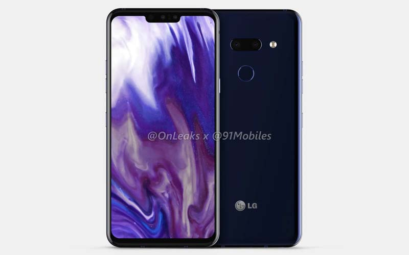 Renders Of LG G8 ThinQ Leaked