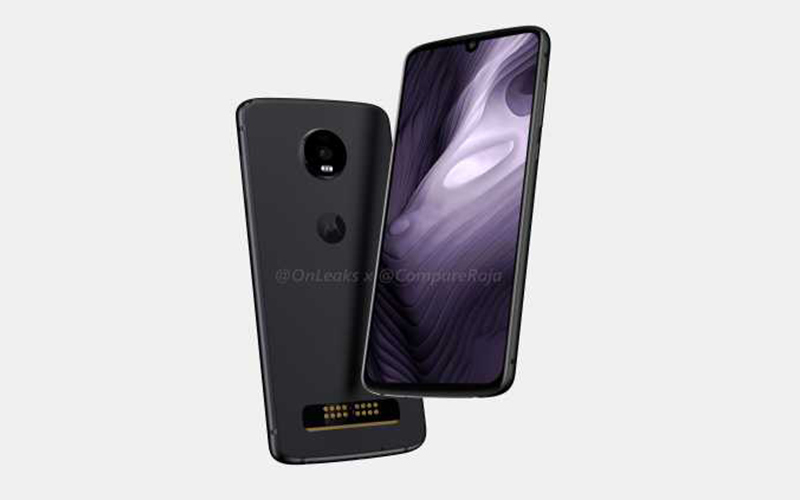 Renders Of Moto Z4 Play Leaked Reveals Key Specifications