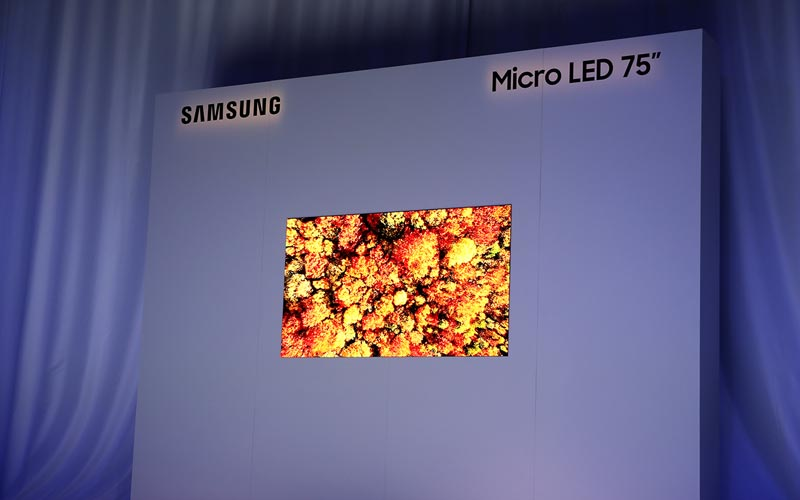 Samsung Showcased MicroLED TV At CES 2019