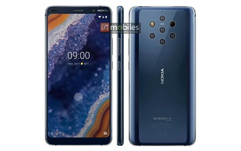 Press Renders Of Nokia 9 PureView Surfaced Online