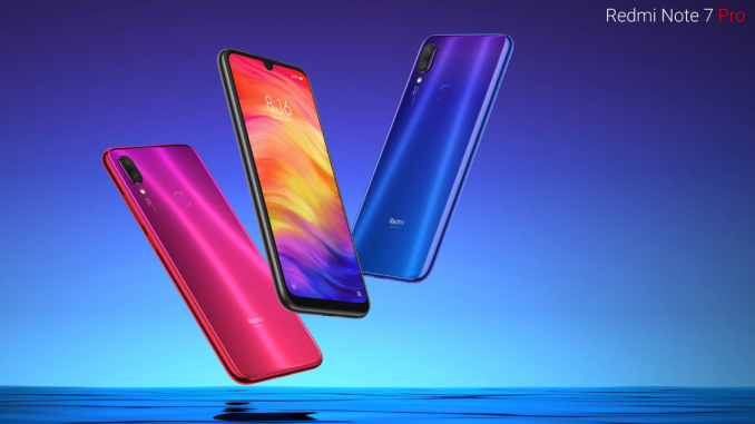 Sale Of Redmi Note 7 Pro Scheduled For Today