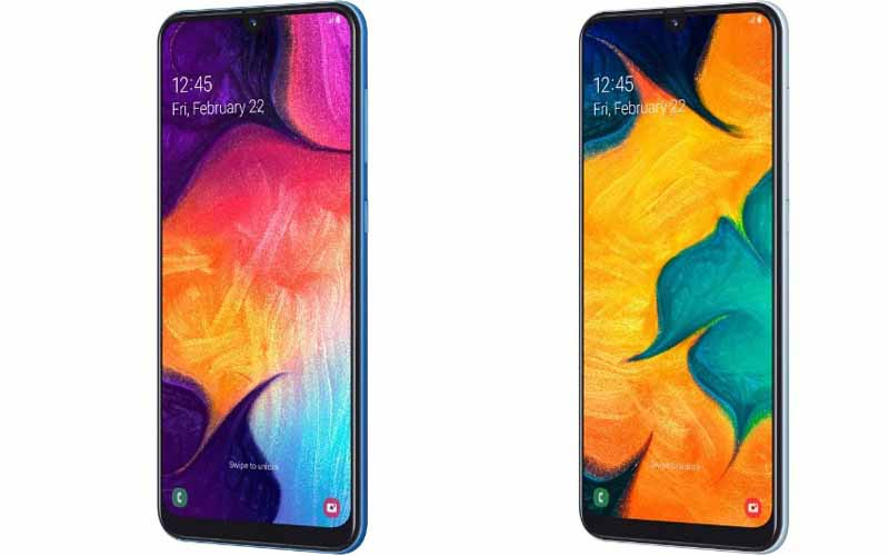 Samsung Galaxy A30 And Galaxy A50 Announced