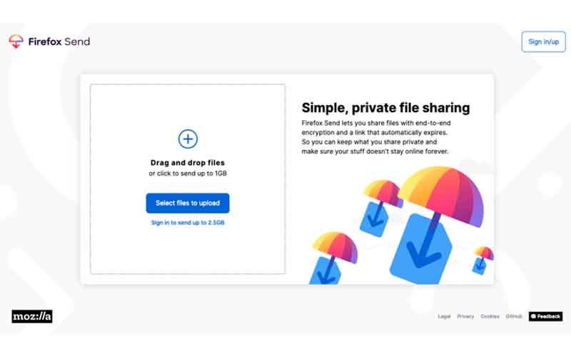 Introducing Firefox Send