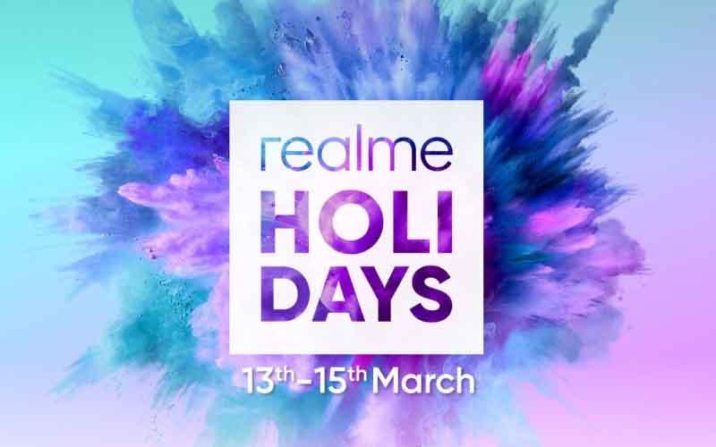 Realme Kicks Off Holi Days Sale